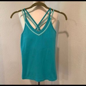 Kyodan strappy yoga tank top